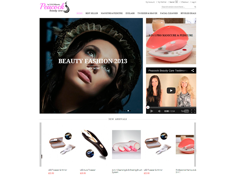 Peacock Beauty Care - Home Page